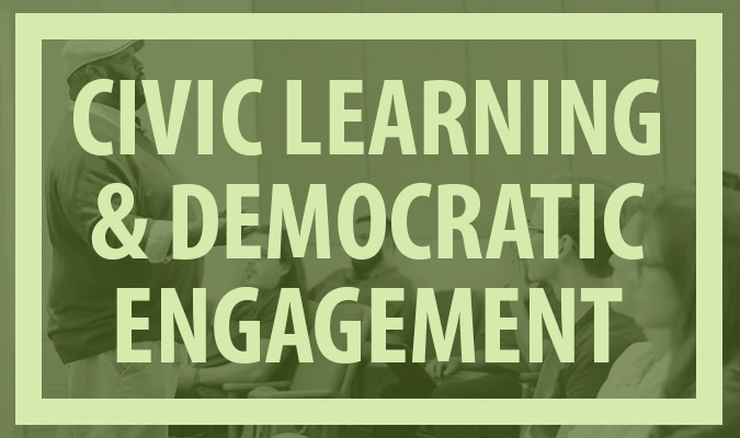 Civic Learning & Democratic Engagement