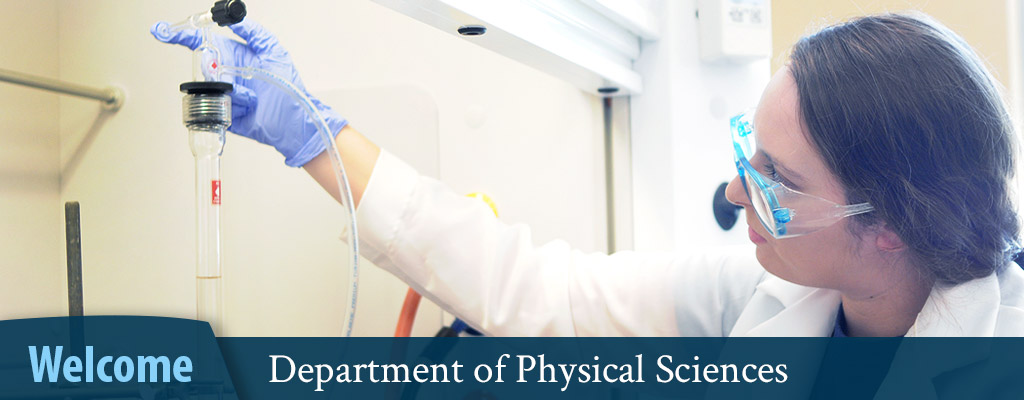 Department of Physical Sciences