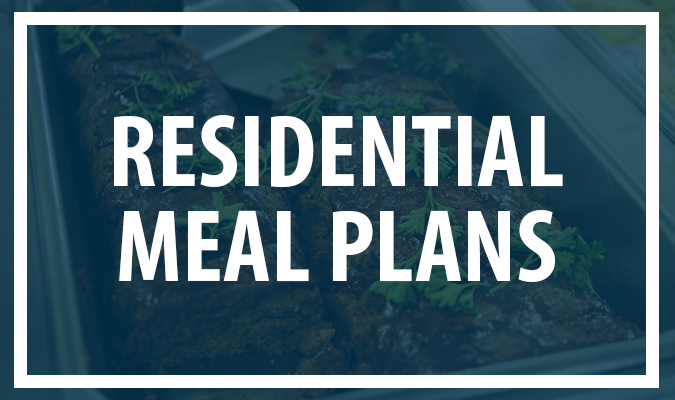 Residential Meal Plans